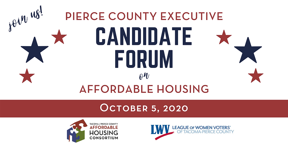 Candidate Forum - Pierce County Executive