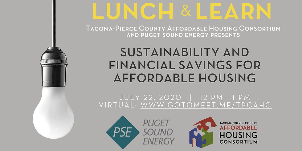 Lunch and Learn: Sustainability and Financial Savings for Affordable Housing