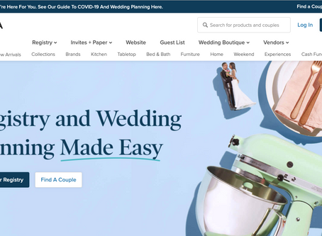 5 Wedding Registry Websites for the 21st Century Couple