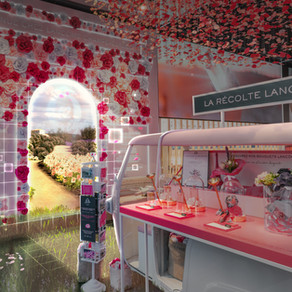 Our latest AR experience for Lancôme's Flagship Store in Paris