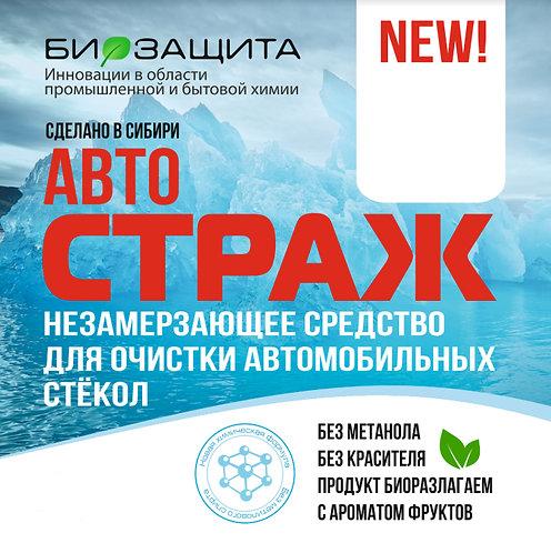 Незамерзающее средство для очистки автомобильных стекол «СТРАЖ» (ЗИМА), 3 л