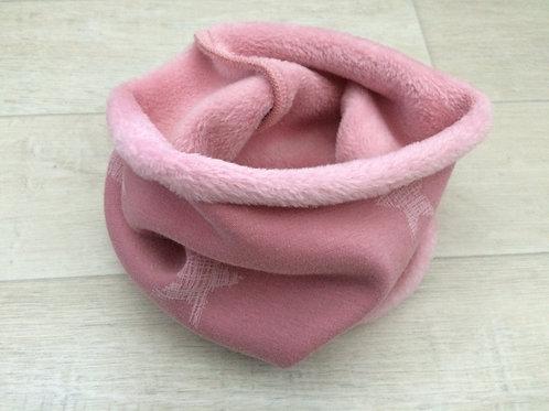 Halswärmer, einlagig, rosa, ca. 12-30Mt