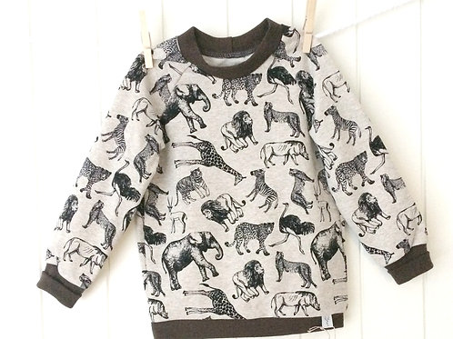 "Pullover ""Animalis"" Gr. 92/98"