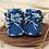 Thumbnail: BabySchühchen •blau mix• (Sohlenlänge 10cm)