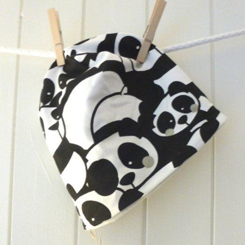 "WendeBeanie ""Panda"""
