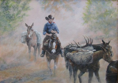 dusty trail ride