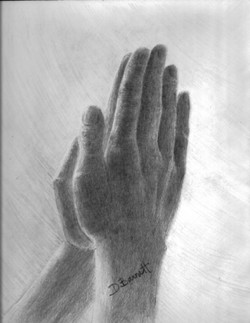 web praying hands