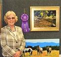 award winning artist Gloria Dawson Teats, original oil paintings, landscapes in oil