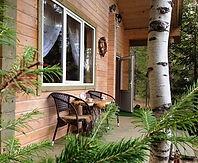 домик в лесу для двоих или семьи с маленьким ребенком
