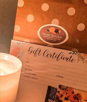 Petals Gift Certificate