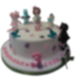 торт доктор плюшева фото