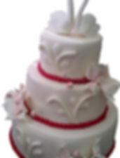 свадебный торт в русском стиле
