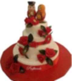 оригинальные свадебные торты фото