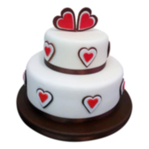 торт на 1 годовщину свадьбы фото