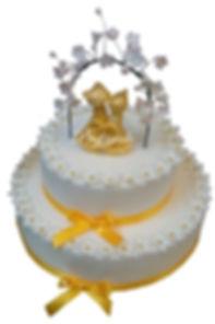 фото двухярусных тортов