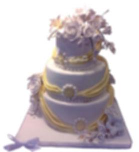 свадебные торты с цветами фото