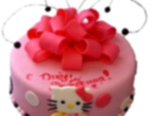 торт девочке на 4 года фото