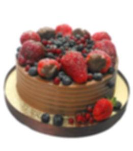 торт с ягодами фото