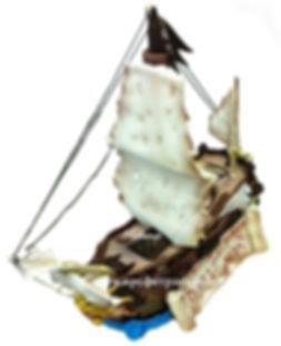 торт в виде корабля фото