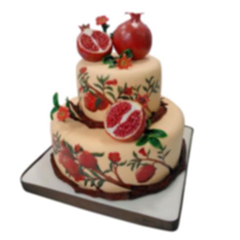 торт на год свадьбы фото