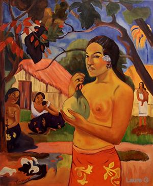 Gauguin par Laure