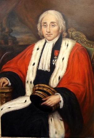 Portrait d ancetre par B. Rosa de Villedieu