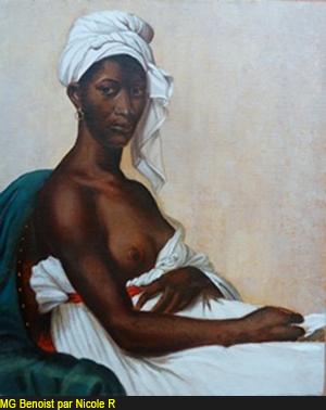 Guillemine Benoist, par Nicole Ruby, 2011
