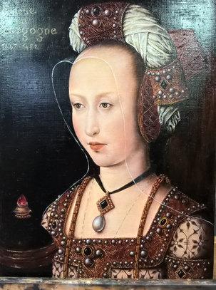 Maitre de la légende , Marie de Bourgogne par  Brigitte Rosa de Villedieu