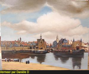 Vermeer par Annie Hazan