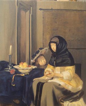 G.Ter Borch par Marguerite Lamoine