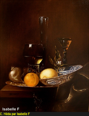 Claesz Héda par Isabelle Frances