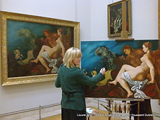 Copiste de tableaux Paris