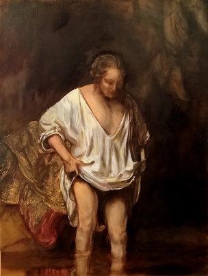 Rembrandt par gena Bordi