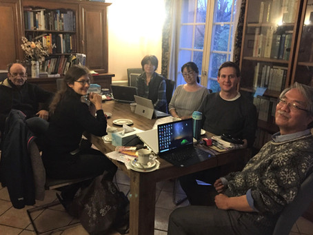 Initial meeting with core research members