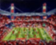 FC_Köln_-_TSG_1899_Hoffenheim_24x30cm_Öl