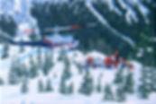 Pause vor Heli 05 Oel auf Leinwand 24 x3