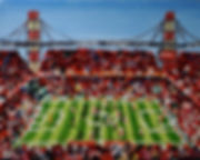 FC_Köln_-_FC_Augsburg_24x30cm_Öl_auf_Lei