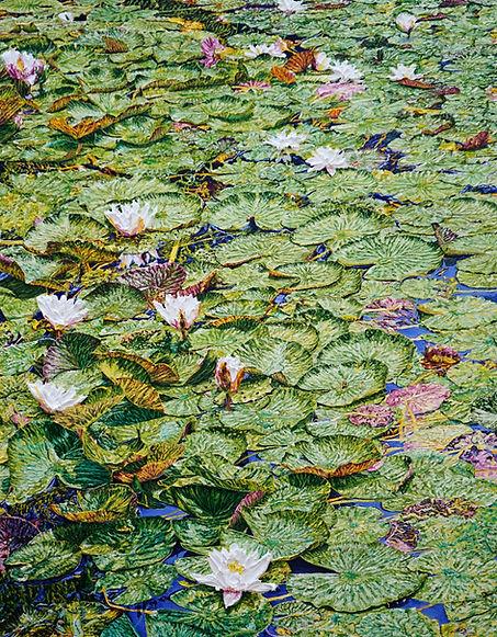 Wassermannsee 180x140cm Öl auf Leinwand