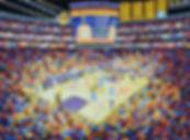 77 Staples Center 14 Oel auf Leinwand 60