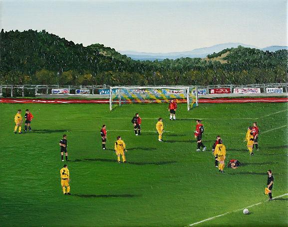 09_Fußball_Urbino_XV_07_Oel_auf_Leinwand