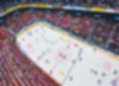 1 Eishockey 11 Oel auf Leinwand 30x40cm.