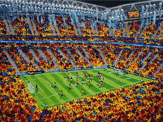 Stadyumu II 30x40cm oil on canvas 2019.j