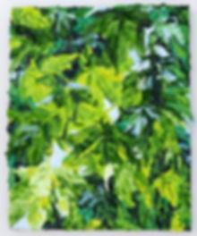 39 Ahorn Oel auf Leinwand 30x24cm 2015.J