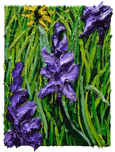 Wilde_Orchideen_40x30cm_Öl_auf_Leinwand_