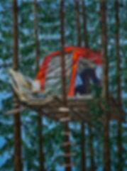 Heimlich III_  40x30cm oil on canvas 201
