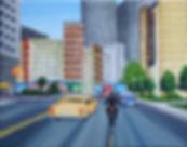 Grand Theft Auto 7 07 Oel auf Leinwand 2