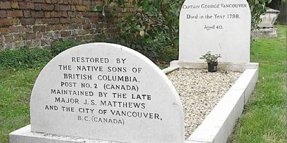 Cancellation of Wreath Laying Ceremony at the Grave of Captain George Vancouver