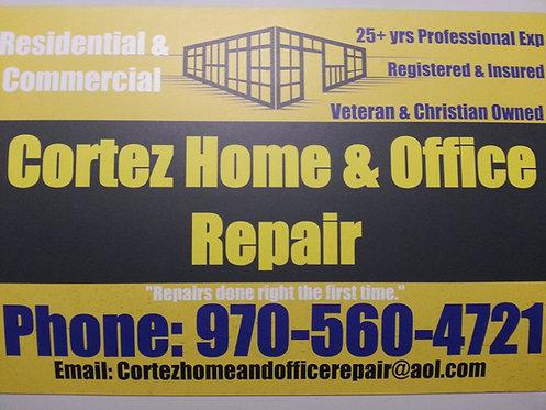 Cortez Home & Office Repair