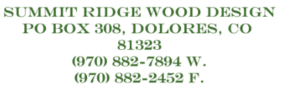 Summit Ridge Wood Design