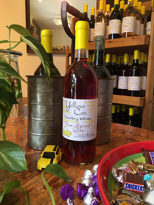 Plum Apricot Wine